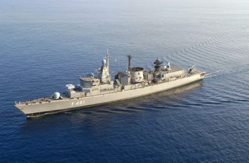 Greek navy ship